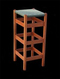 Custom Wooden 30 Inch Bar Stool