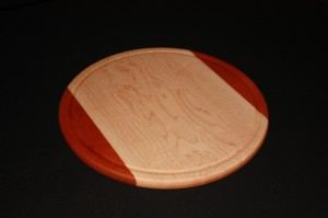 Large Wooden Round Bread Cutting Board
