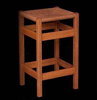 Custom Handmade Wooden 24 Inch Bar Stool