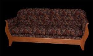 Custom Wooden Empire Sofa from Vermont